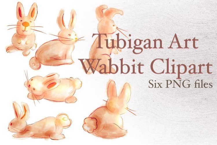 Wabbit Rabbits for Easter example image 1