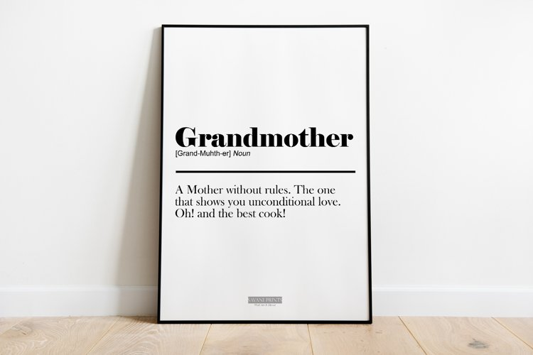 Digital Mother's Day Print Frame not included example image 1