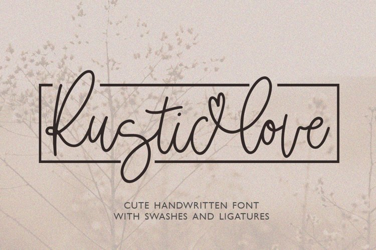 Rustic Love example image 1