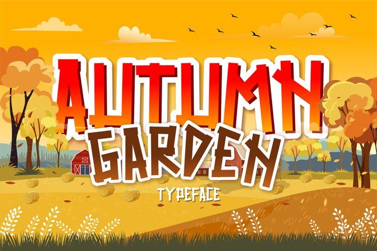 Autumn Garden example image 1