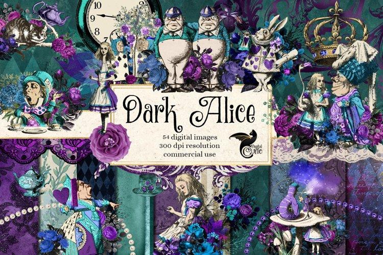 Dark Alice In Wonderland Graphics