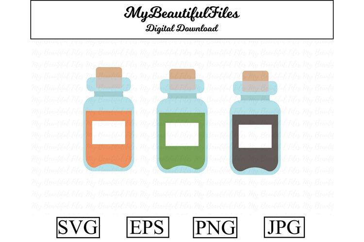 bottles SVG - Cute bottle SVG, EPS, PNG and JPG example image 1