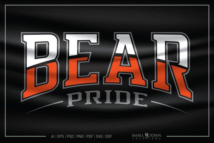 Bear, Bear Pride, Team, Bear svg, Bear Athletics SVG