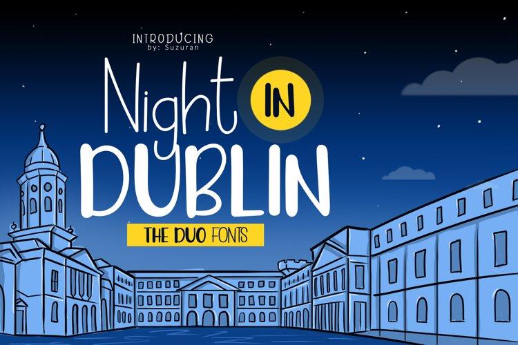 Night in Dublin example image 1