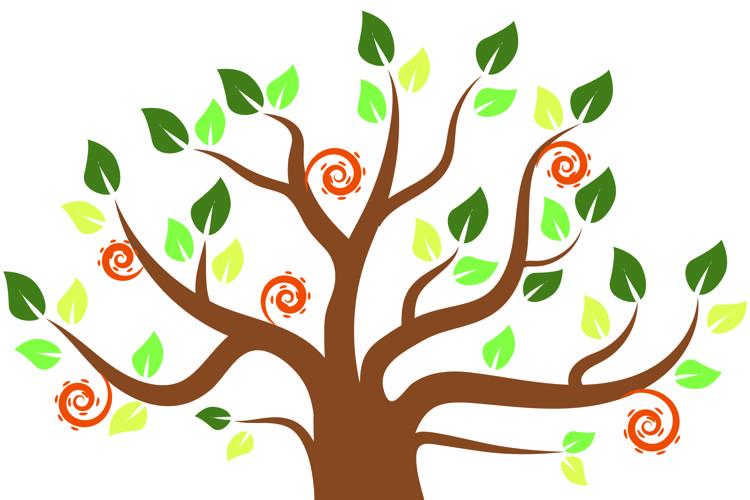 Tree graphic example image 1