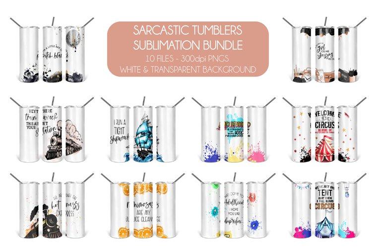 Sarcastic Tumblers Sublimation Bundle|Funny Sublimation Set