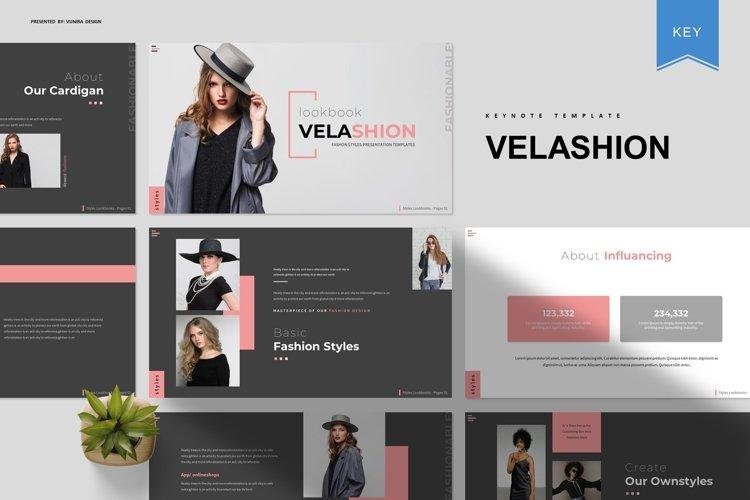 Velashion   Keynote Template example image 1