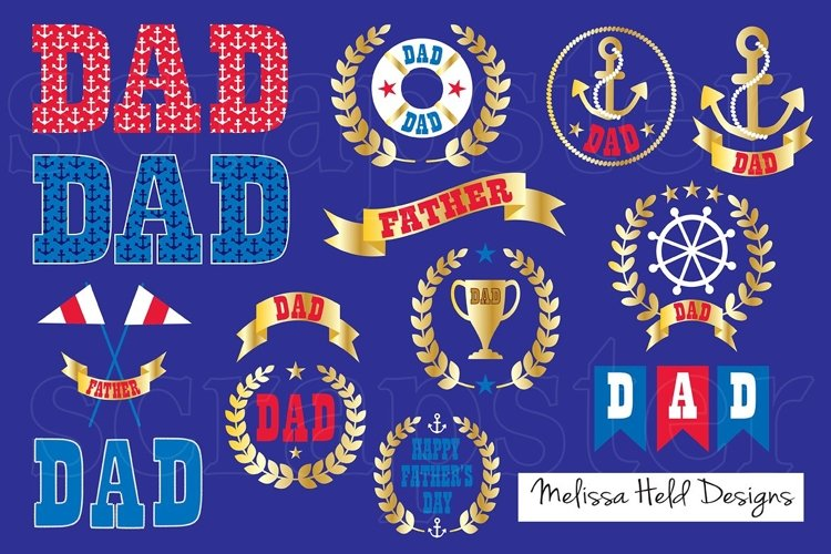 Nautical Fathers Day Clipart