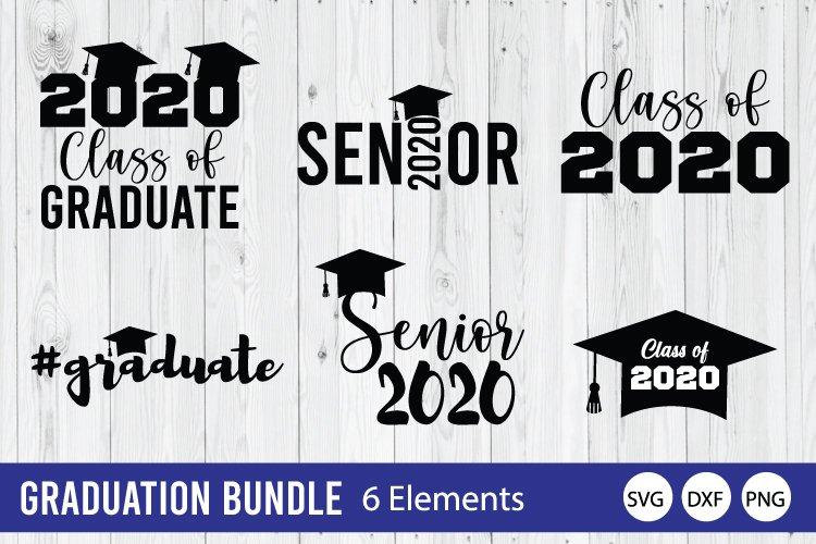 Graduation Bundle SVG, Class Of 2020 SVG example image 1