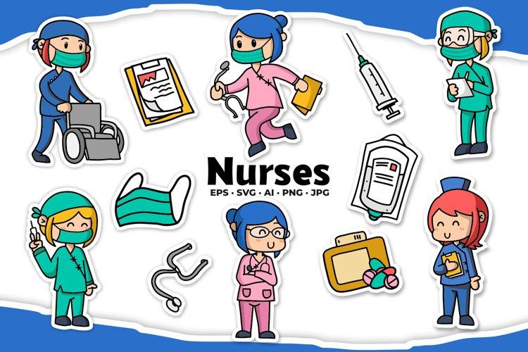 Nurse Illustrations example image 1