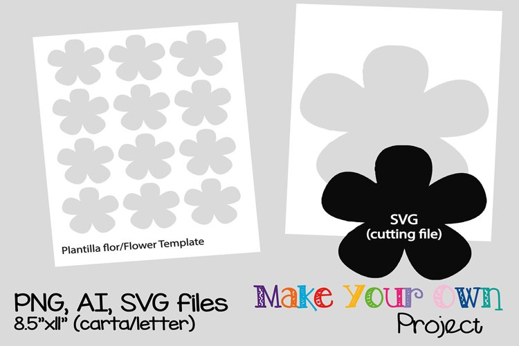 Flower SVG shape example image 1