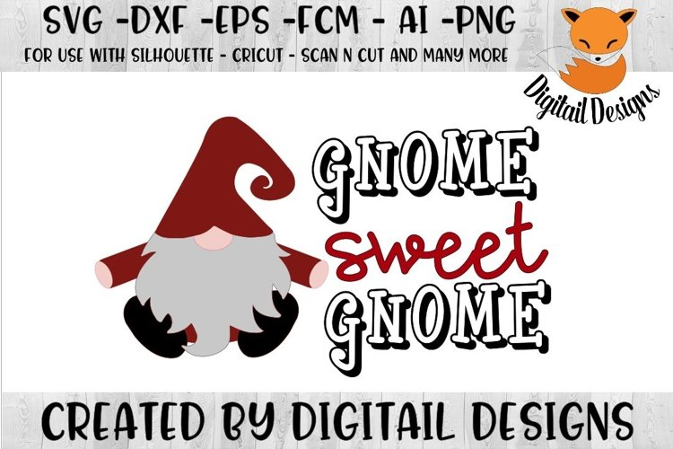 Gnome SVG - png - eps - dxf - ai - fcm - example image 1