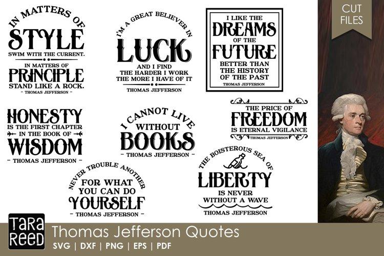 Thomas Jefferson Quotes Bundle example image 1