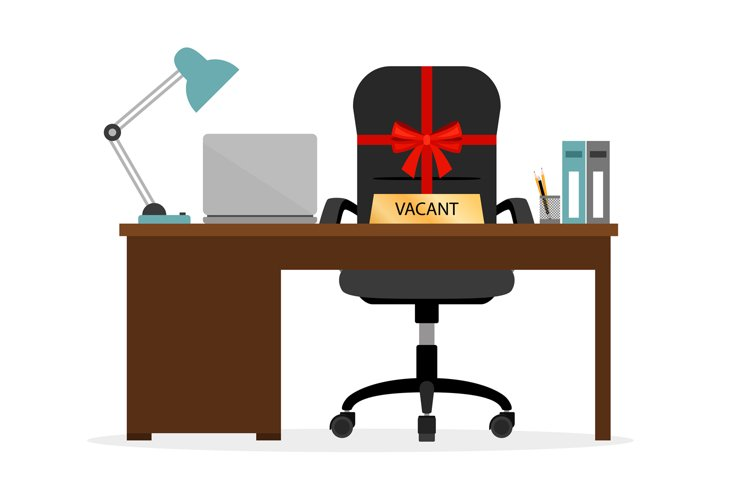 Vacant chair hr icon example image 1