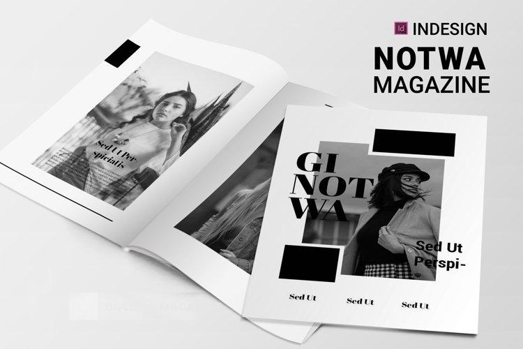 Notwa | Magazine example image 1