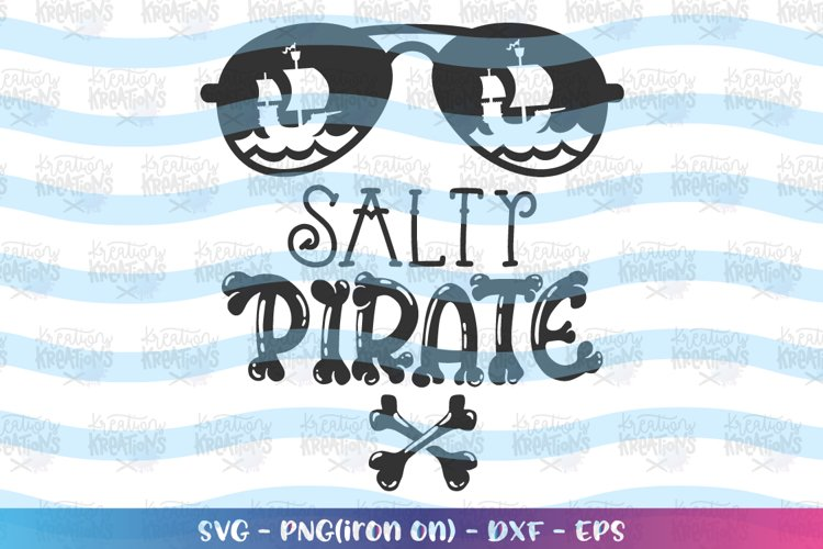 Pirates - salty pirate clipart example image 1