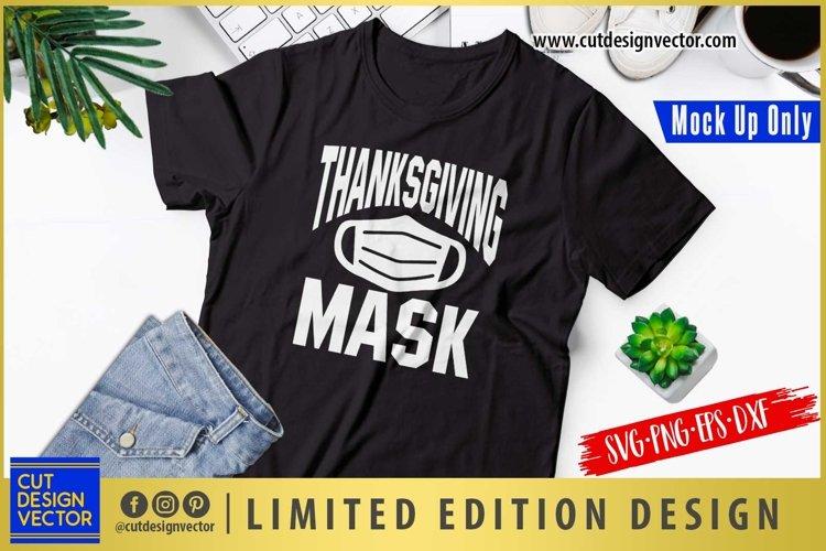 Thanksgiving Mask SVG, Thanksgiving SVG example image 1