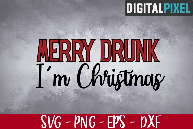 Merry Drunk Im Christmas Svg, Christmas 2020 Svg, Beer Svg