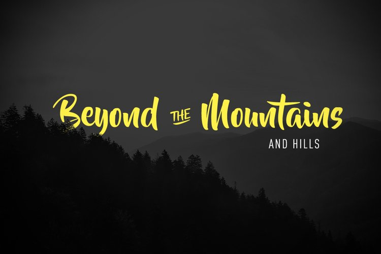 Beyond The Mountains example image 1