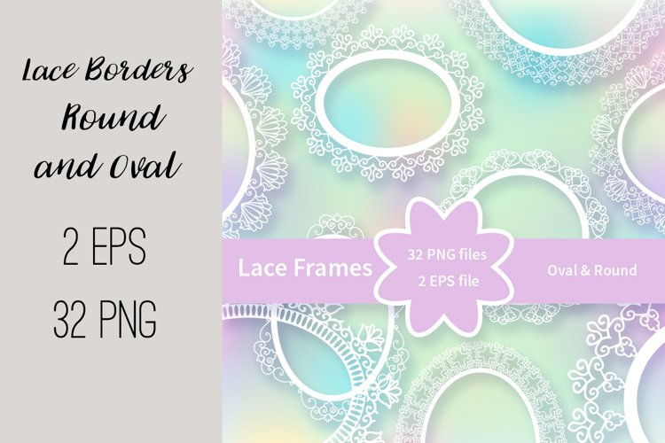 Lace Frames Borders