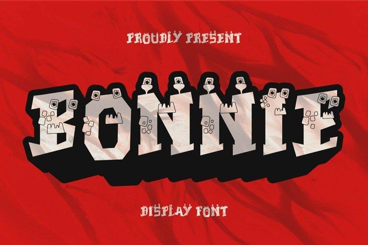 Web Font Bonnie Font example image 1
