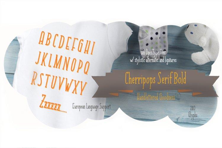 Cherripops Serif Bold
