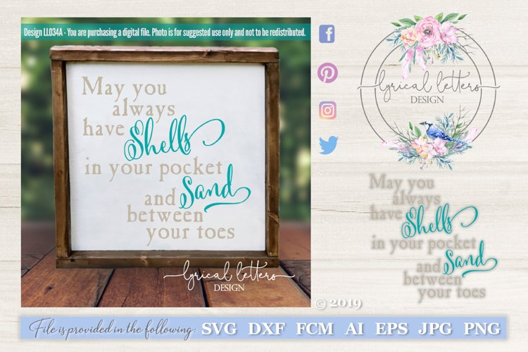 Shells In Your Pocket SVG DXF Cut File LL034A example image 1