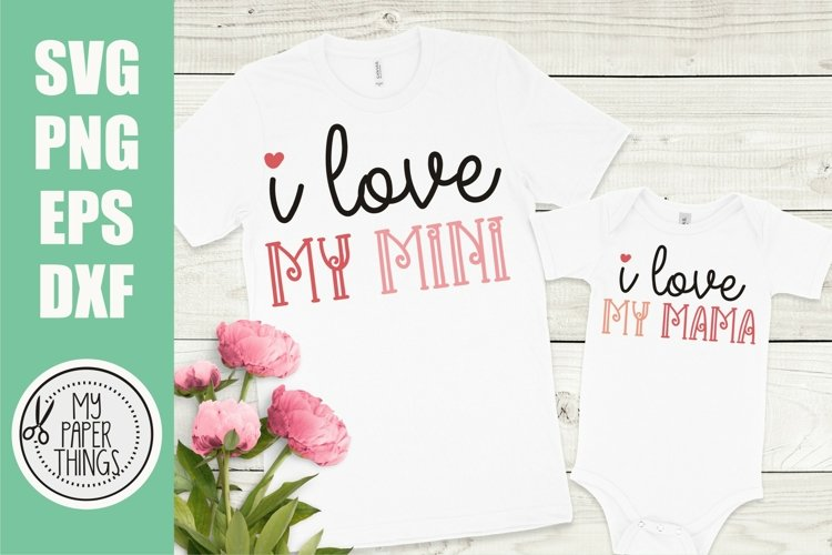 Mommy and me svg Bundle | Mama and mini svg Bundle - Free Design of The Week Design0