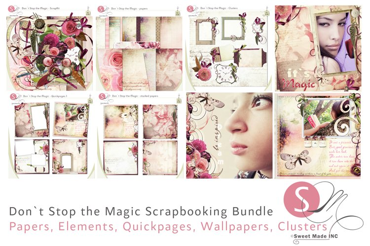 Dont Stop the Magic Bundle example image 1