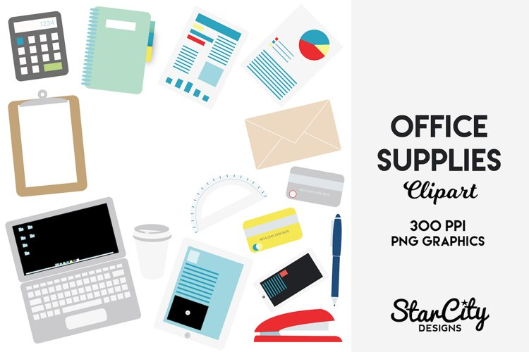 Office Supplies Clip art for Commercial Use