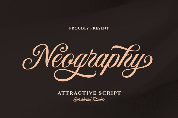 Neography - Attractive Script example image 1