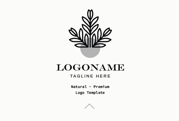 Natural - Premium Logo Template