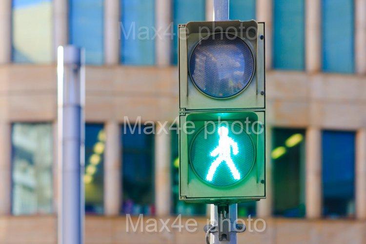 Traffic light pedestrian