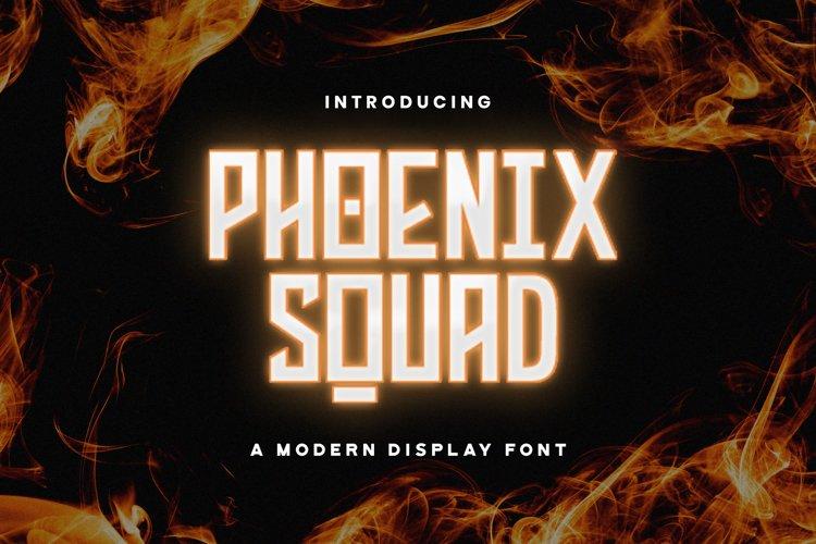 Phoenix Squad - Modern Display Font example image 1
