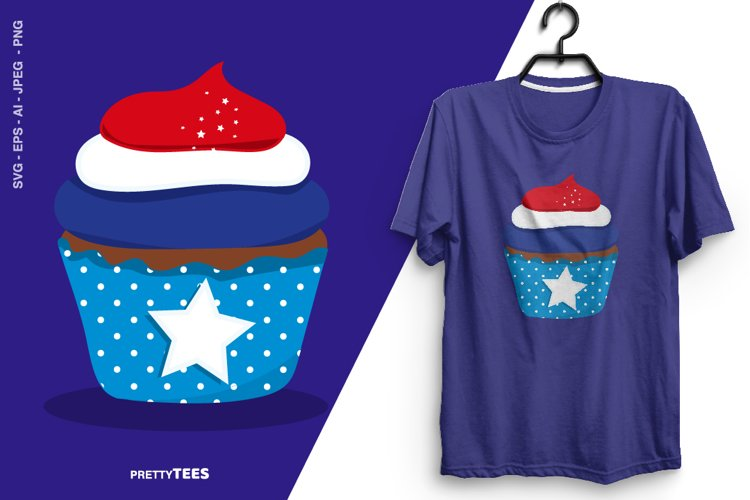 4th of July T-Shirt Design | 4th of July Sublimation Shirt example image 1