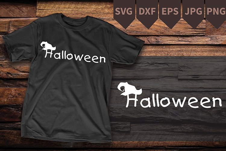 Halloween Hat SVG Cut File vinyl decal example image 1