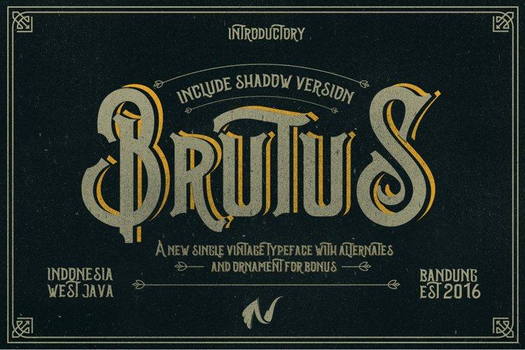 Brutus Typeface example image 1