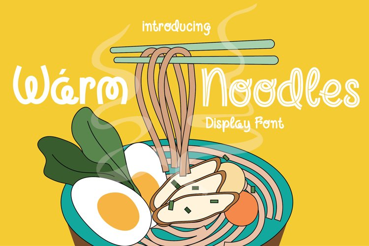 Warm Noodles example image 1