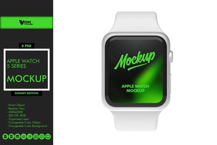 Apple Watch 5 Series Mockup example image 1