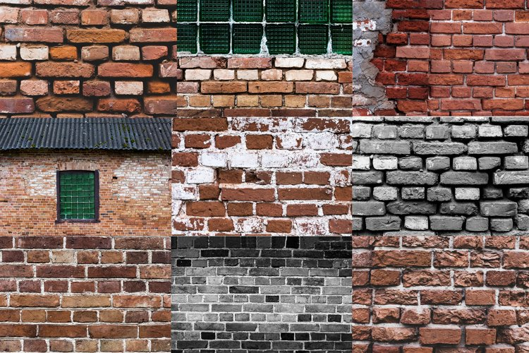 old brick wall backgrounds, vintage textures brick wall