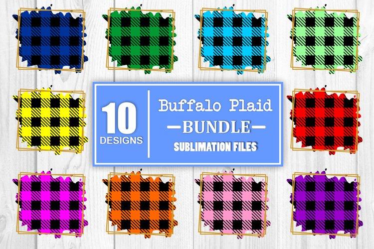 Sublimation Bundle Buffalo Plaid Bundle Sublimation Bundle