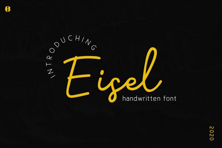 Eisel | Handwritten Font example image 1