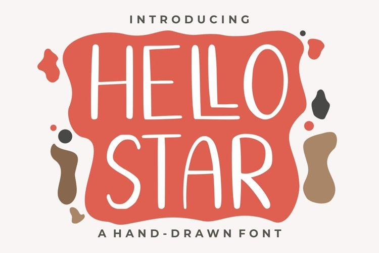 Hello Star | EXTRA SHAPES example image 1