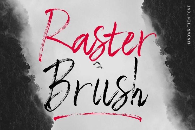 Raster Brush example image 1