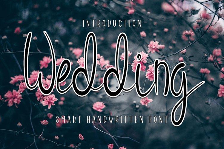 Wedding - Handwritten Font example image 1