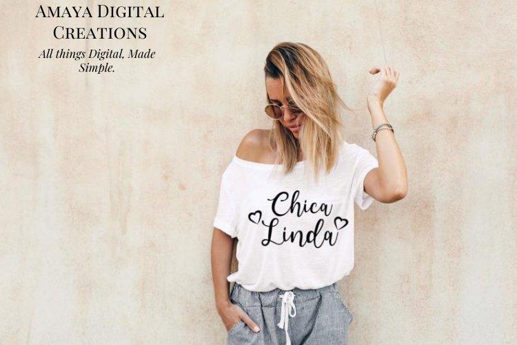 Chica Linda Svg,Instant Download