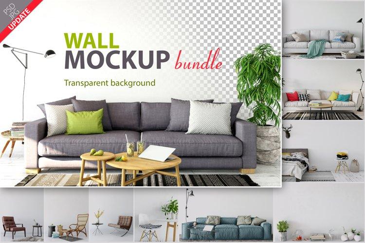 Wall Mockup - Bundle Vol. 1 example image 1