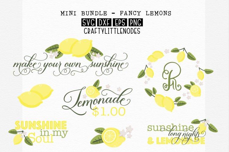 Lemons & Sunshine - Svg Bundle example image 1