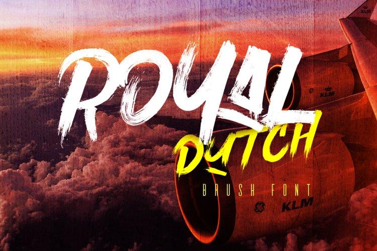 Royal Dutch Font example image 1