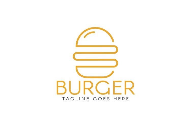 Burger Logo Design.